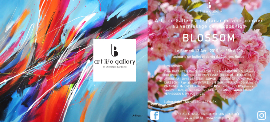 Exposition Blossom Art Life Gallery